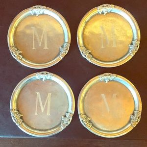 Monogrammed Coasters - Set of 4